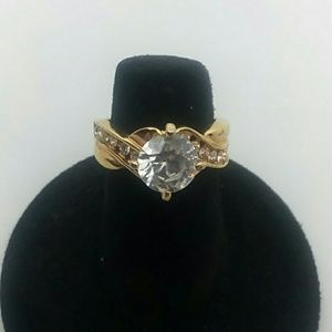 Small Size 5 Gold-Tone Ring